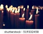 candle light  vintage light... | Shutterstock . vector #519332458