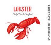 Lobster Vector Illustration In...
