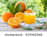 Fresh Orange Juice With ...