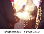 youth celebrating the new year  ... | Shutterstock . vector #519352210