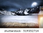 Desk Of Snow And Night
