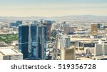 the strip of as vegas   hotel... | Shutterstock . vector #519356728
