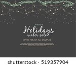 Happy Holiday Background  New...