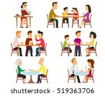 collection of 6 vector... | Shutterstock .eps vector #519363706