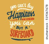 you can not buy happiness but... | Shutterstock .eps vector #519367678