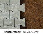 half constructed concrete...   Shutterstock . vector #519373399