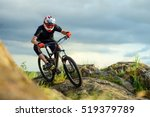 professional cyclist riding the ... | Shutterstock . vector #519379789