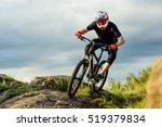 professional cyclist riding the ... | Shutterstock . vector #519379834