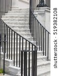 Marble Staircase In An Outdoor...