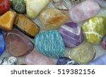 close up of healing crystals  ... | Shutterstock . vector #519382156