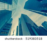 new york skyscrapers vew from... | Shutterstock . vector #519383518