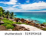 amazing tropical beach | Shutterstock . vector #519393418