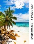 amazing tropical beach | Shutterstock . vector #519393430