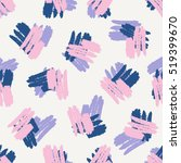 hand drawn seamless pattern in... | Shutterstock .eps vector #519399670