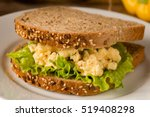 Egg Salad Sandwich With Whole...