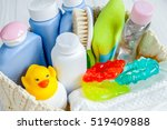 organic cosmetic children for... | Shutterstock . vector #519409888