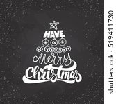 merry christmas and happy new...   Shutterstock .eps vector #519411730