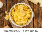 cheese and onion potato chips... | Shutterstock . vector #519413416