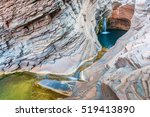 spa pool  hamersley gorge at... | Shutterstock . vector #519413890