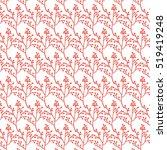 winter berry background. vector ...   Shutterstock .eps vector #519419248