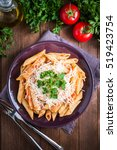 Penne Pasta With Chicken ...