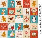 Vector Advent Calendar With...