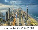 aerial view of modern buildings ... | Shutterstock . vector #519429304