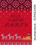 vector illustration of ugly... | Shutterstock .eps vector #519431434