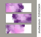 vector banner shapes collection ... | Shutterstock .eps vector #519432604
