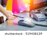 mobile payment phone retail nfc ... | Shutterstock . vector #519438139