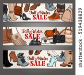 vector illustration set of... | Shutterstock .eps vector #519438829