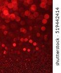 defocused abstract red lights... | Shutterstock . vector #519442414