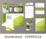 corporate identity template....   Shutterstock .eps vector #519443116