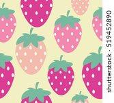 Simple Strawberry Seamless...