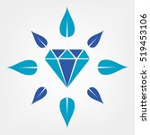 diamond | Shutterstock .eps vector #519453106