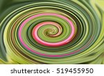 Abstract Of Colored Spiral For...
