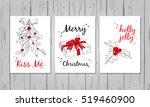 Christmas Design Set. Three...