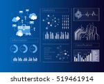 security virtual interface .... | Shutterstock . vector #519461914