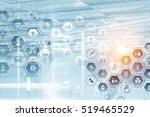 medicine abstract background ....   Shutterstock . vector #519465529