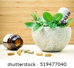 alternative health care and... | Shutterstock . vector #519477040