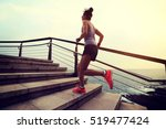 healthy lifestyle young fitness ...   Shutterstock . vector #519477424