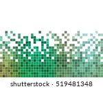 abstract square pixel mosaic... | Shutterstock .eps vector #519481348