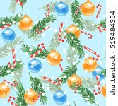 New Year Seamless Pattern....