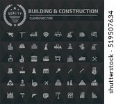 building and construction icon ... | Shutterstock .eps vector #519507634