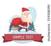 funny illustration of... | Shutterstock .eps vector #519508390