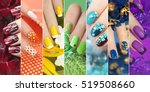 Colorful Rainbow Collection Of...