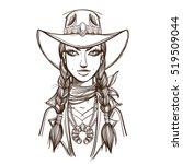 Girl In A Cowboy Hat...