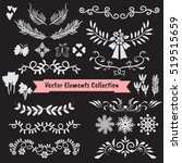 vector illustration element...   Shutterstock .eps vector #519515659