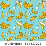 seamless vector pattern of... | Shutterstock .eps vector #519517228