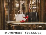 luxury store appearance | Shutterstock . vector #519523783